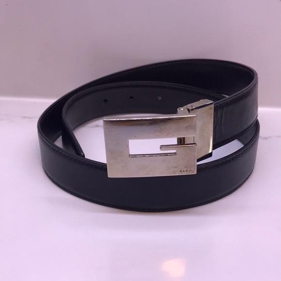 cd2da8bc6 Gucci Accessories | Vintage Block G Belt Unisex | Poshmark